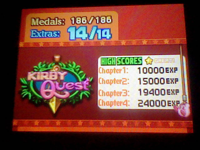 Kirby Mass Attack: Kirby Quest: Chapter 3 19,400 points