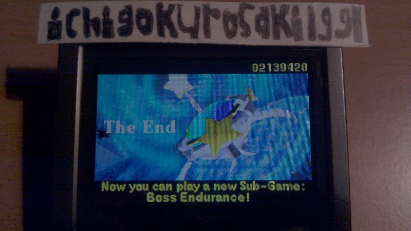 ichigokurosaki1991: Kirby: Nightmare In Dream Land (GBA) 2,139,420 points on 2016-04-26 20:23:27