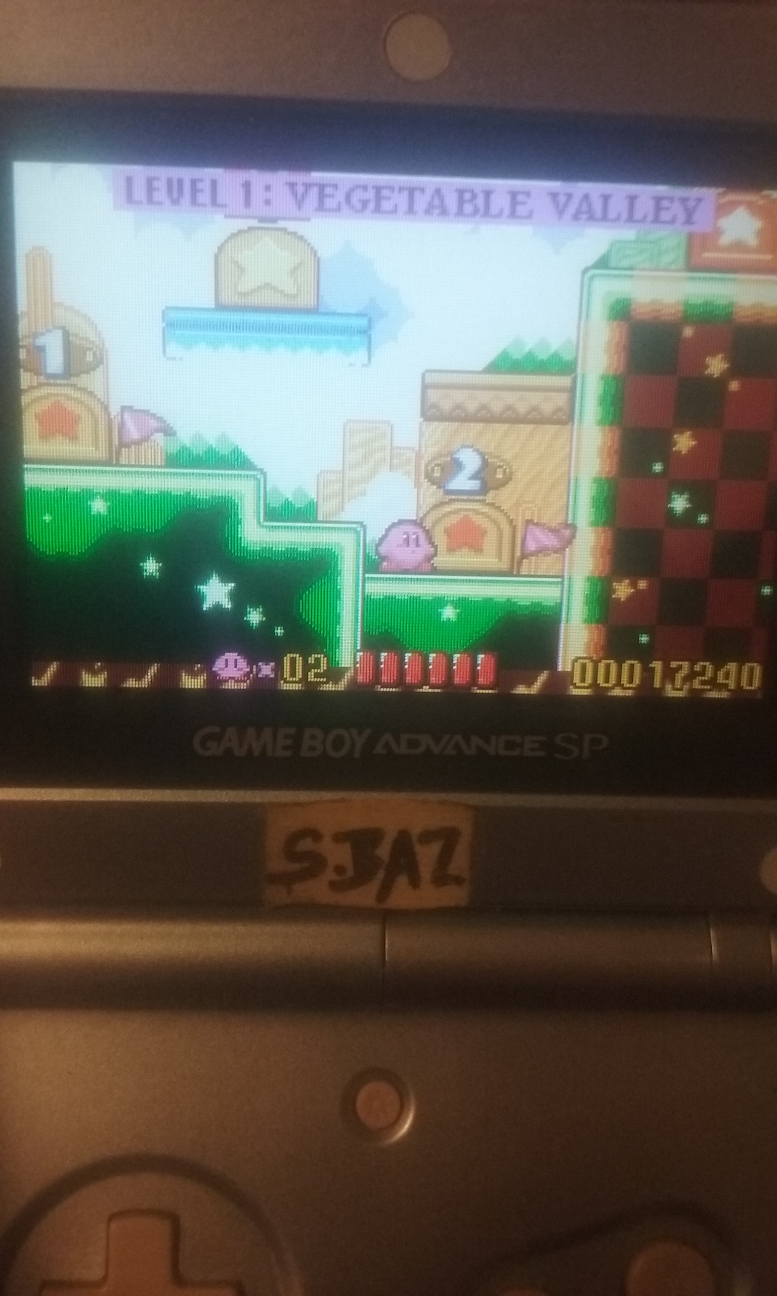 S.BAZ: Kirby: Nightmare In Dream Land (GBA) 17,240 points on 2019-11-21 04:04:25