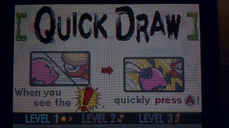 ichigokurosaki1991: Kirby: Nightmare In Dream Land: Quick Draw [Fastest Time] [Level 1] (GBA) 9 points on 2016-04-26 20:24:15