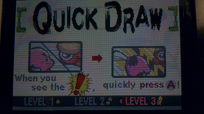 ichigokurosaki1991: Kirby: Nightmare In Dream Land: Quick Draw [Fastest Time] [Level 3] (GBA) 10 points on 2016-04-26 20:25:49