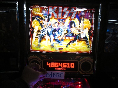 ed1475: Kiss [Stern Pinball] (Pinball: 3 Balls) 4,864,510 points on 2017-02-05 15:52:21