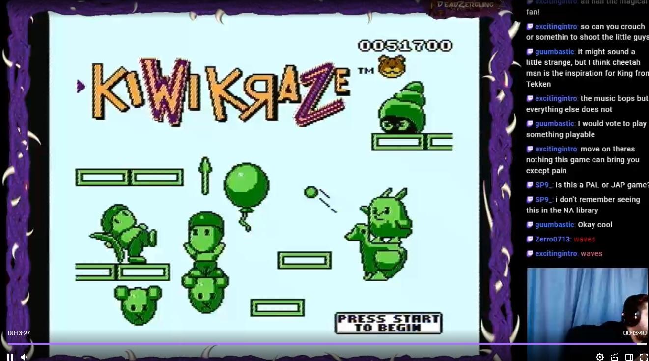 Kiwi Kraze 51,700 points