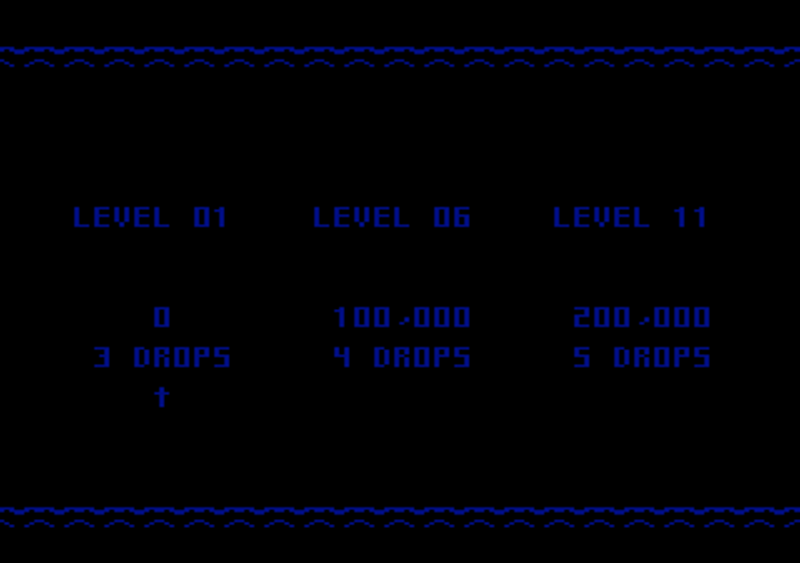 oyamafamily: Klax: Easy [Level 01 Start] (Atari 7800 Emulated) 100,000 points on 2016-12-16 18:02:40