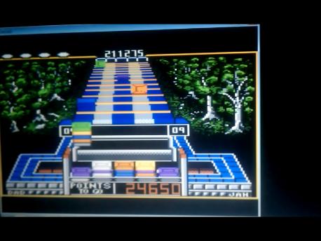 S.BAZ: Klax: Hard [Level 06 Start] (Atari 7800 Emulated) 211,275 points on 2016-02-11 04:17:26