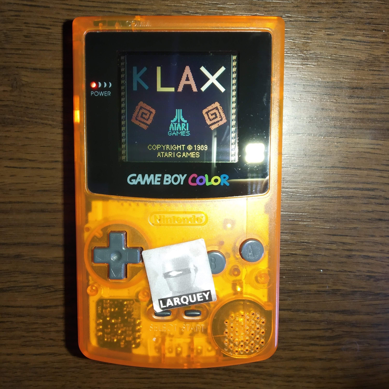 Larquey: Klax [Wave 1 Start] (Game Boy Color) 87,155 points on 2020-07-22 05:00:59