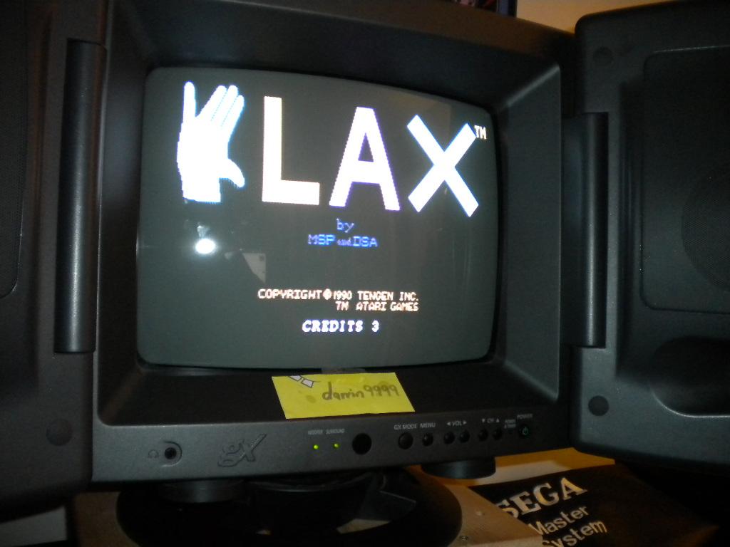 Klax: Wave 1 Start 353,920 points