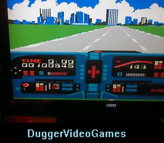 DuggerVideoGames: Knight Rider (NES/Famicom Emulated) 100,345 points on 2016-03-30 18:36:09