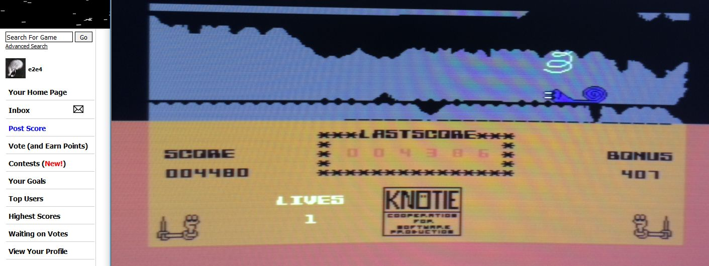 Knoetie in Caves 4,480 points