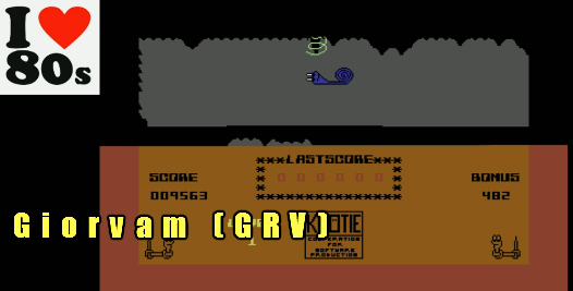 Giorvam: Knoetie in Caves (Commodore 64 Emulated) 9,563 points on 2018-01-23 12:03:13