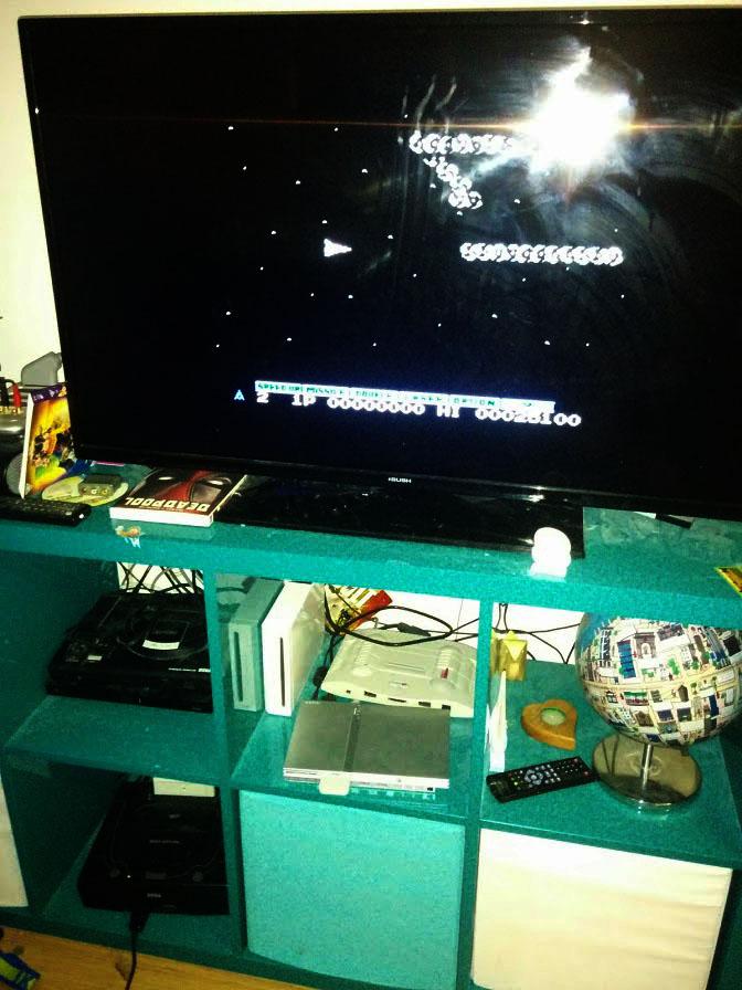 Konami Antiques MSX Collection: Gradius 25,100 points