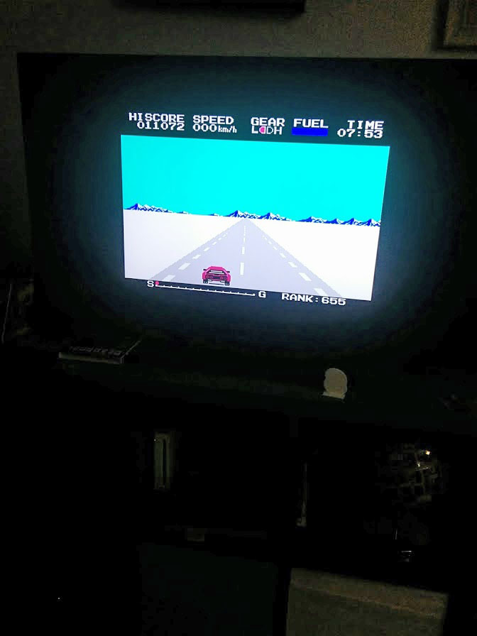 Konami Antiques MSX Collection: Konami Rally 11,072 points
