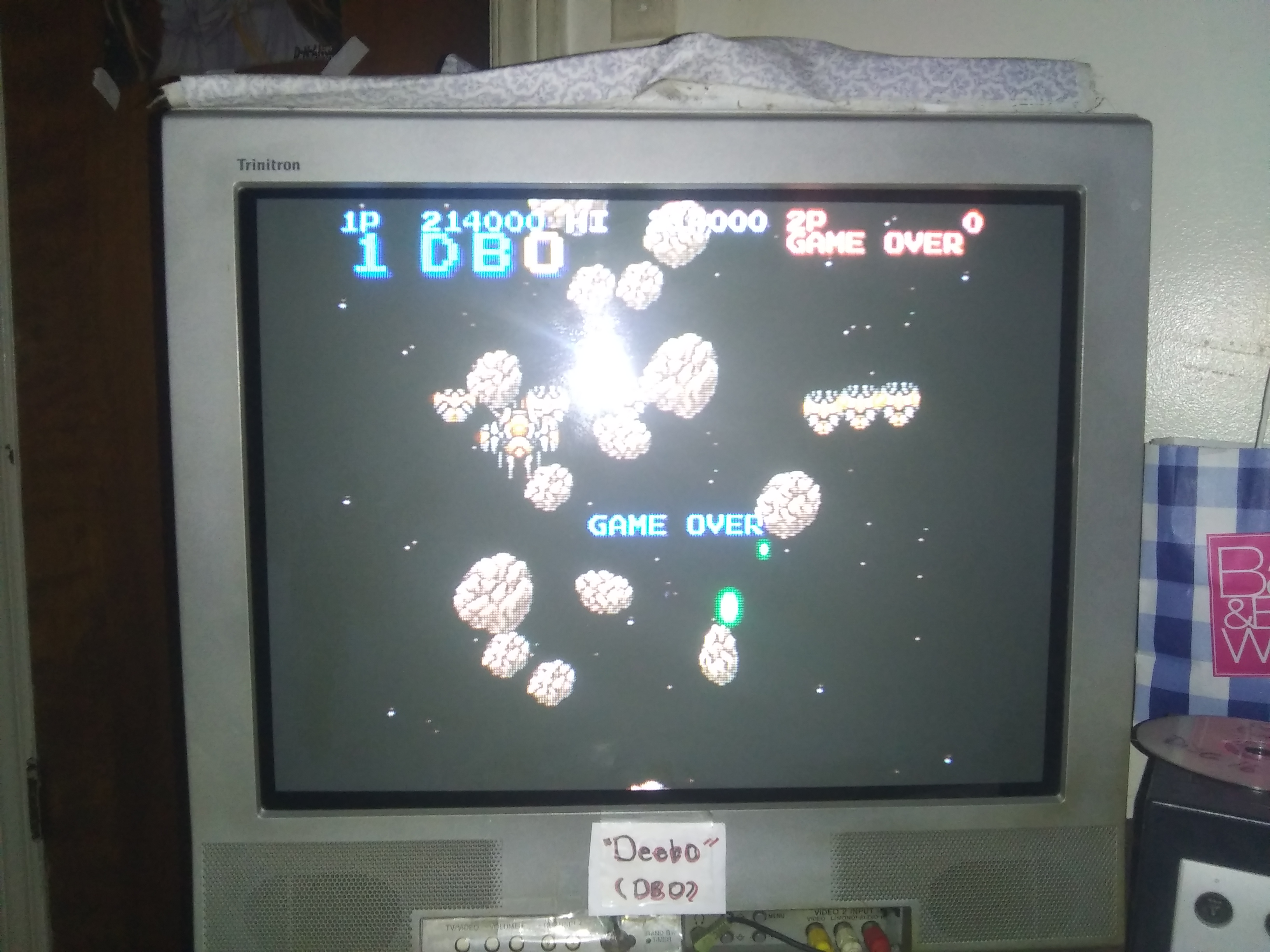 Deebo: Konami Antiques MSX Collection: Salamander (Sega Saturn) 214,000 points on 2019-03-22 00:53:23