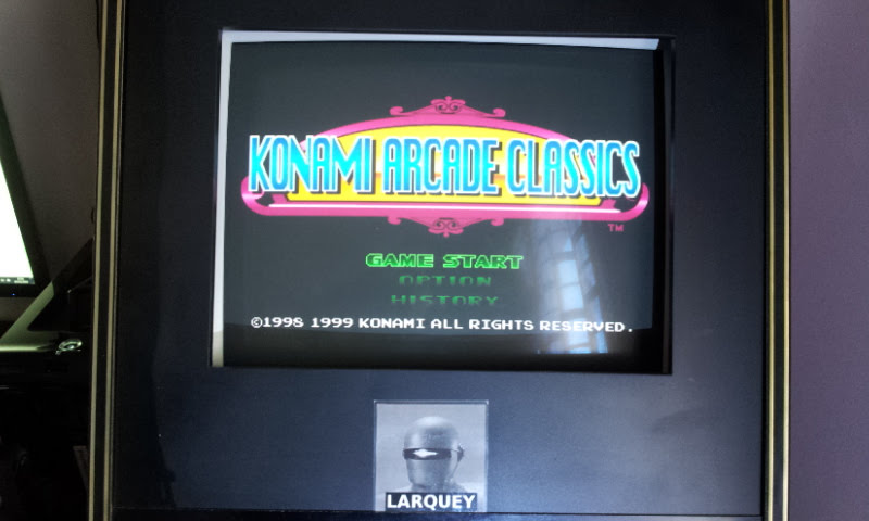 Larquey: Konami Arcade Classics: Gyruss (Playstation 1 Emulated) 69,850 points on 2018-02-04 04:12:37