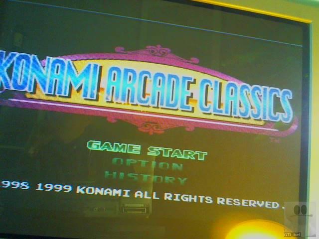 GTibel: Konami Arcade Classics: Gyruss (Playstation 1) 70,250 points on 2018-11-30 03:56:24