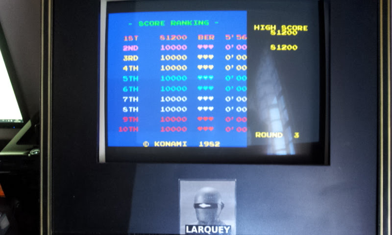 Larquey: Konami Arcade Classics: Pooyan (Playstation 1 Emulated) 81,200 points on 2018-02-03 08:44:15