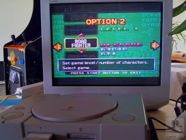 GTibel: Konami Arcade Classics: Road Fighter (Playstation 1) 63,040 points on 2018-11-30 06:08:05