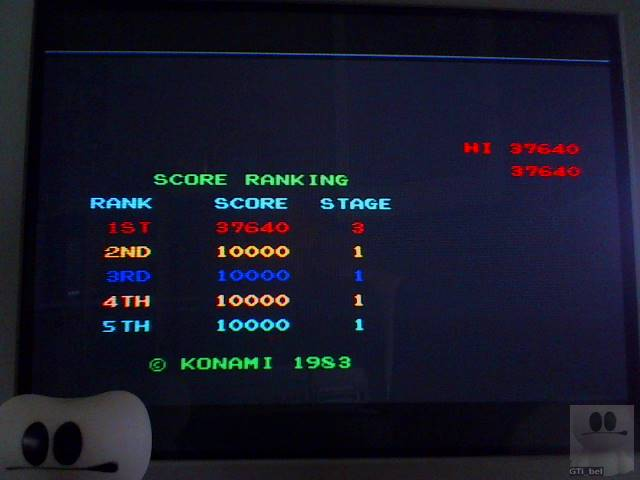 Konami Arcade Classics: Roc N Rope 37,640 points
