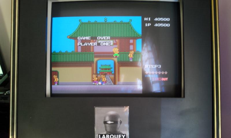 Larquey: Konami Arcade Classics: Shao Lin