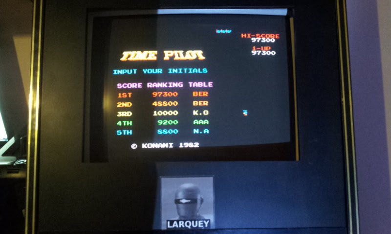 Larquey: Konami Arcade Classics: Time Pilot (Playstation 1 Emulated) 97,300 points on 2018-02-04 02:27:05