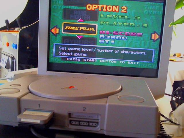 Konami Arcade Classics: Time Pilot 83,800 points