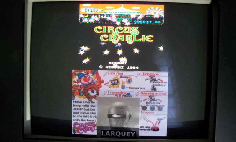 Konami Classics Series: Arcade Hits: Circus Charlie 28,180 points