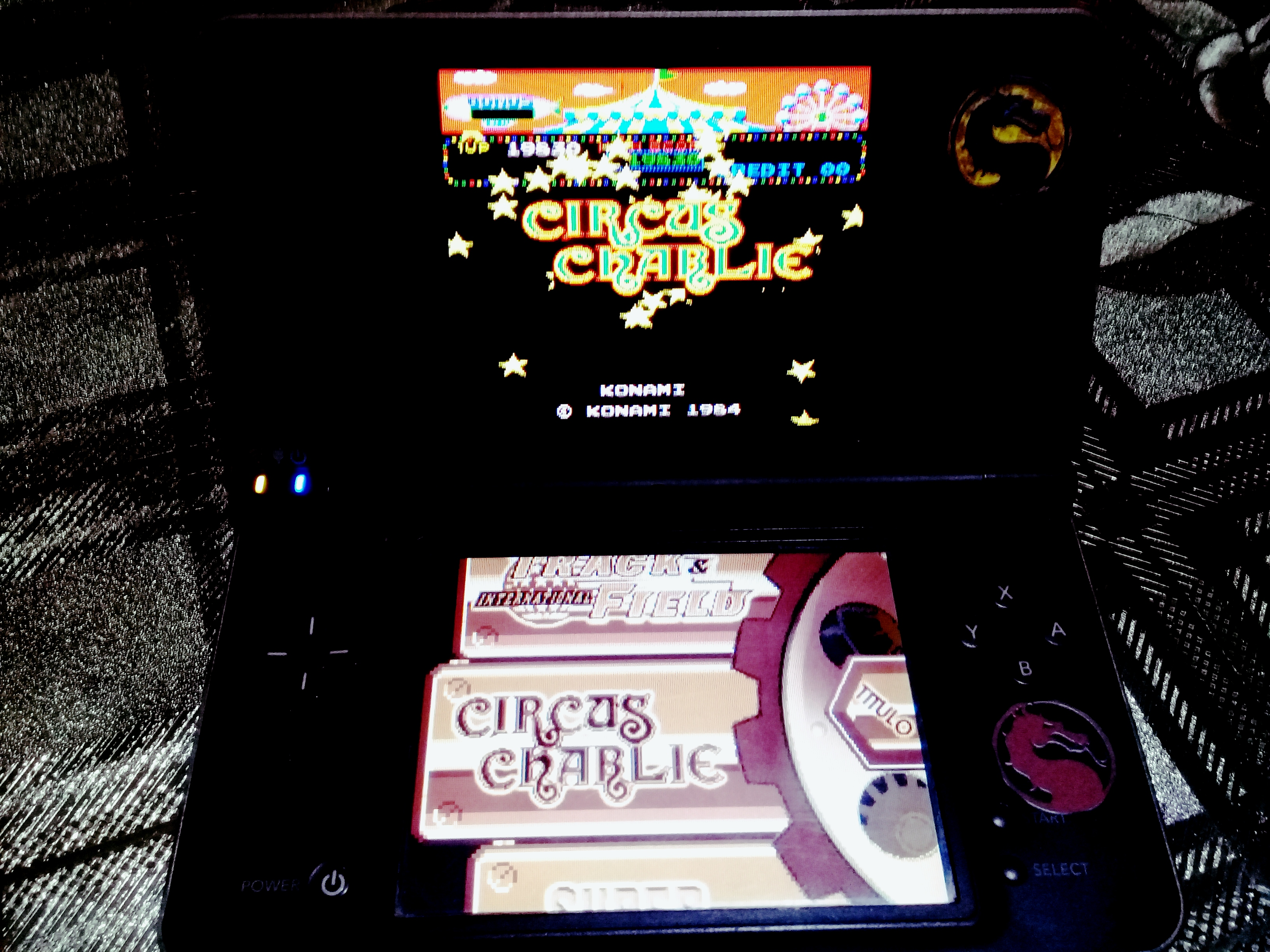 omargeddon: Konami Classics Series: Arcade Hits: Circus Charlie (Nintendo DS) 39,840 points on 2020-08-09 18:14:01