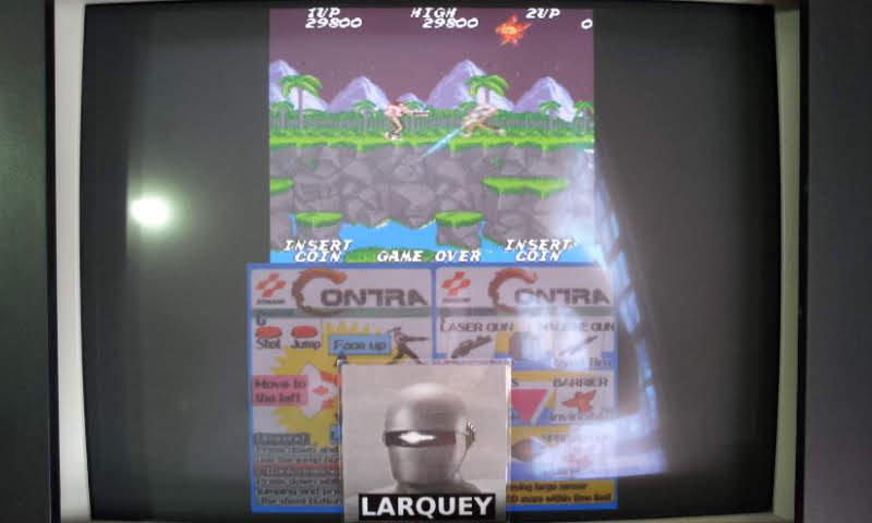 Konami Classics Series: Arcade Hits: Contra / Gryzor 29,800 points