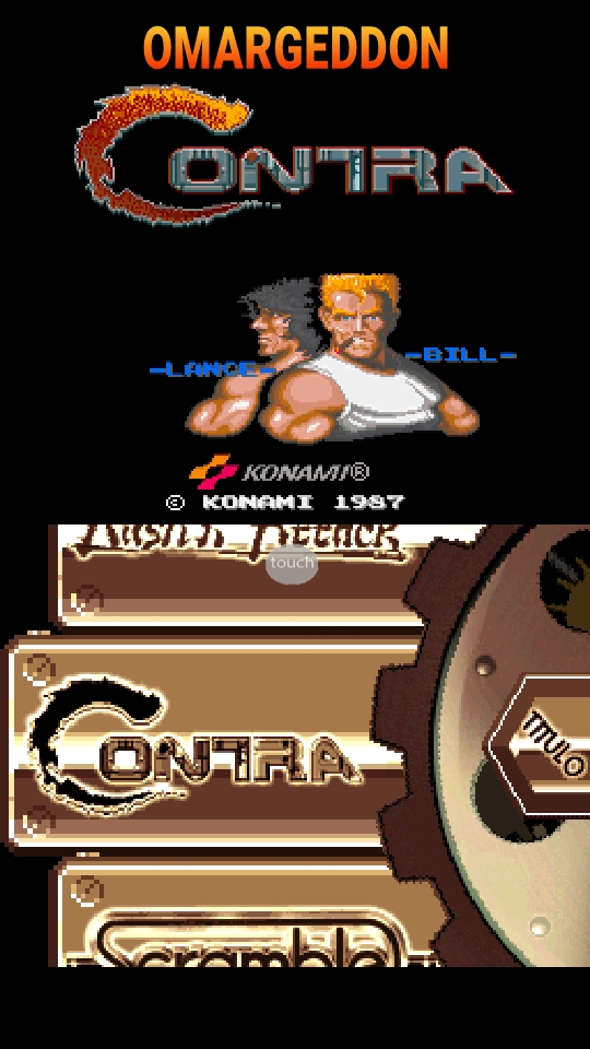 omargeddon: Konami Classics Series: Arcade Hits: Contra / Gryzor (Nintendo DS Emulated) 97,100 points on 2018-10-24 21:38:34