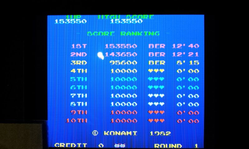 Larquey: Konami Classics Series: Arcade Hits: Pooyan (Nintendo DS) 153,550 points on 2017-10-15 14:06:27
