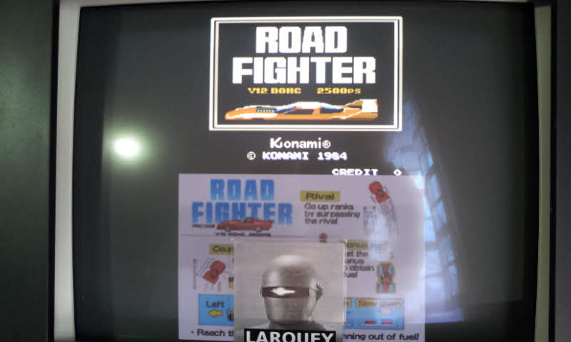Konami Classics Series: Arcade Hits: Road Fighter 20,980 points