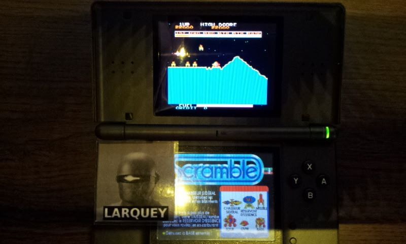 Larquey: Konami Classics Series: Arcade Hits: Scramble (Nintendo DS) 22,660 points on 2017-10-14 03:25:14