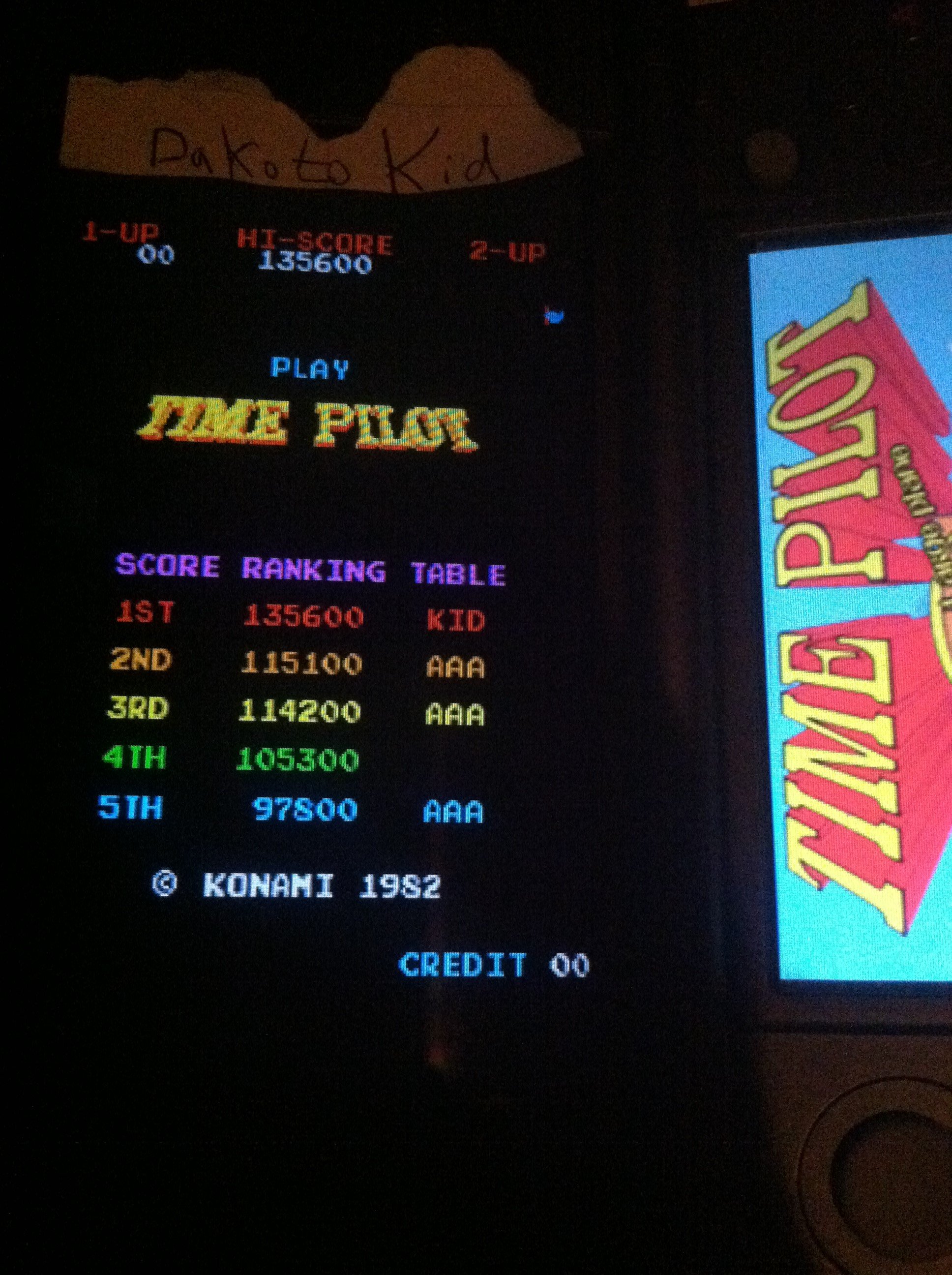 DakotaKid: Konami Classics Series: Arcade Hits: Time Pilot (Nintendo DS) 135,600 points on 2017-09-13 20:05:50