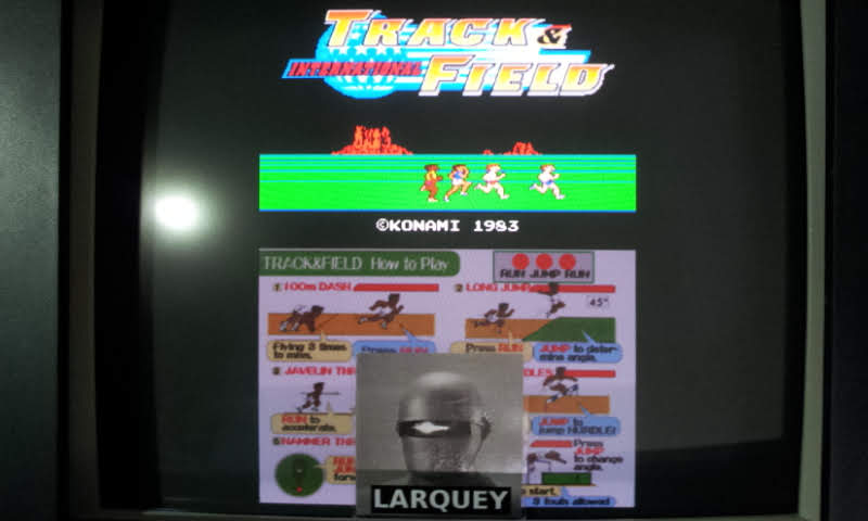 Konami Classics Series: Arcade Hits: Track and Field 34,510 points