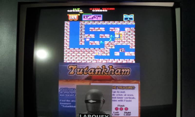 Konami Classics Series: Arcade Hits: Tutankham / Horror Maze 29,360 points