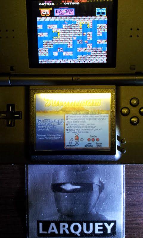 Larquey: Konami Classics Series: Arcade Hits: Tutankham / Horror Maze (Nintendo DS) 47,940 points on 2018-07-14 12:53:03