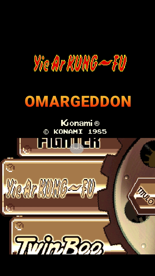 omargeddon: Konami Classics Series: Arcade Hits: Yie Ar Kung-Fu (Nintendo DS Emulated) 58,000 points on 2018-10-11 12:59:57