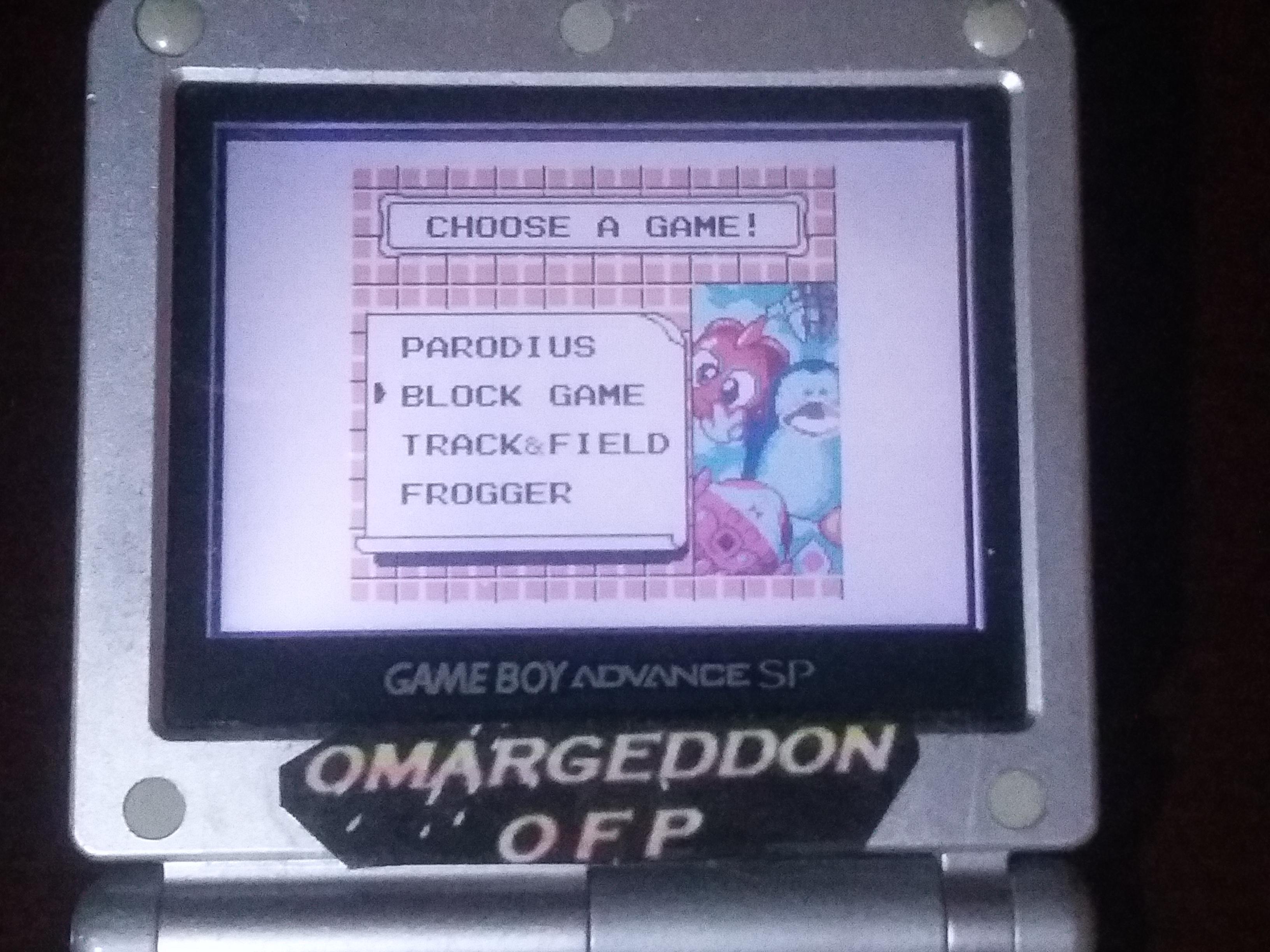omargeddon: Konami GB Collection Vol. 2: Block Game (Game Boy Color) 35,240 points on 2018-03-03 13:23:02