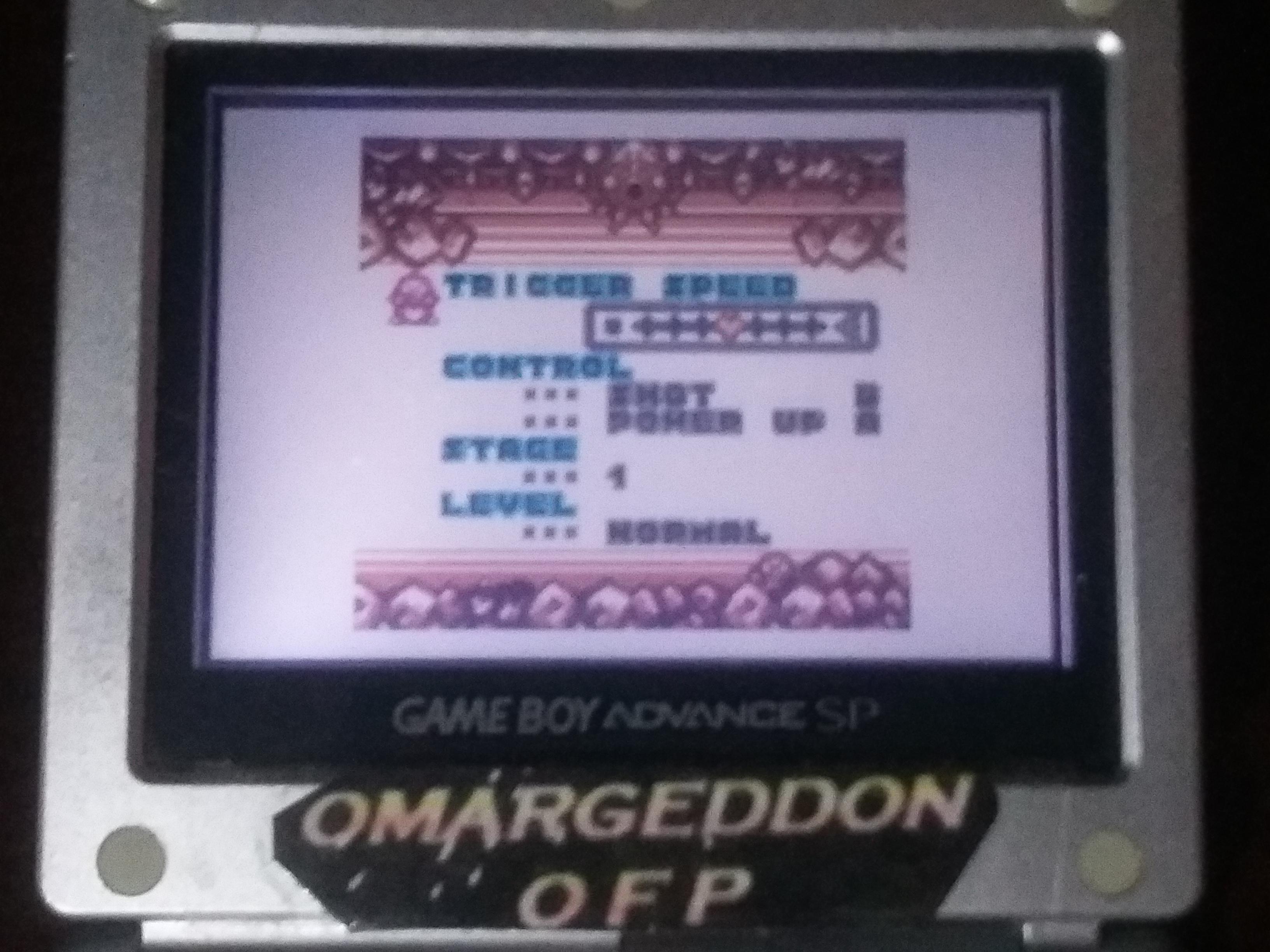 omargeddon: Konami GB Collection Vol. 2: Parodius (Game Boy Color) 44,300 points on 2018-03-03 14:14:25
