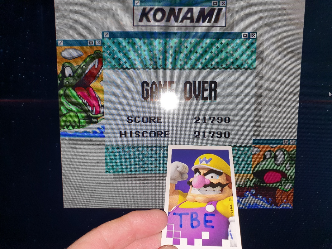 Sixx: Konami GB Collection Vol. 4: Frogger (Game Boy Emulated) 21,790 points on 2020-05-16 16:25:50