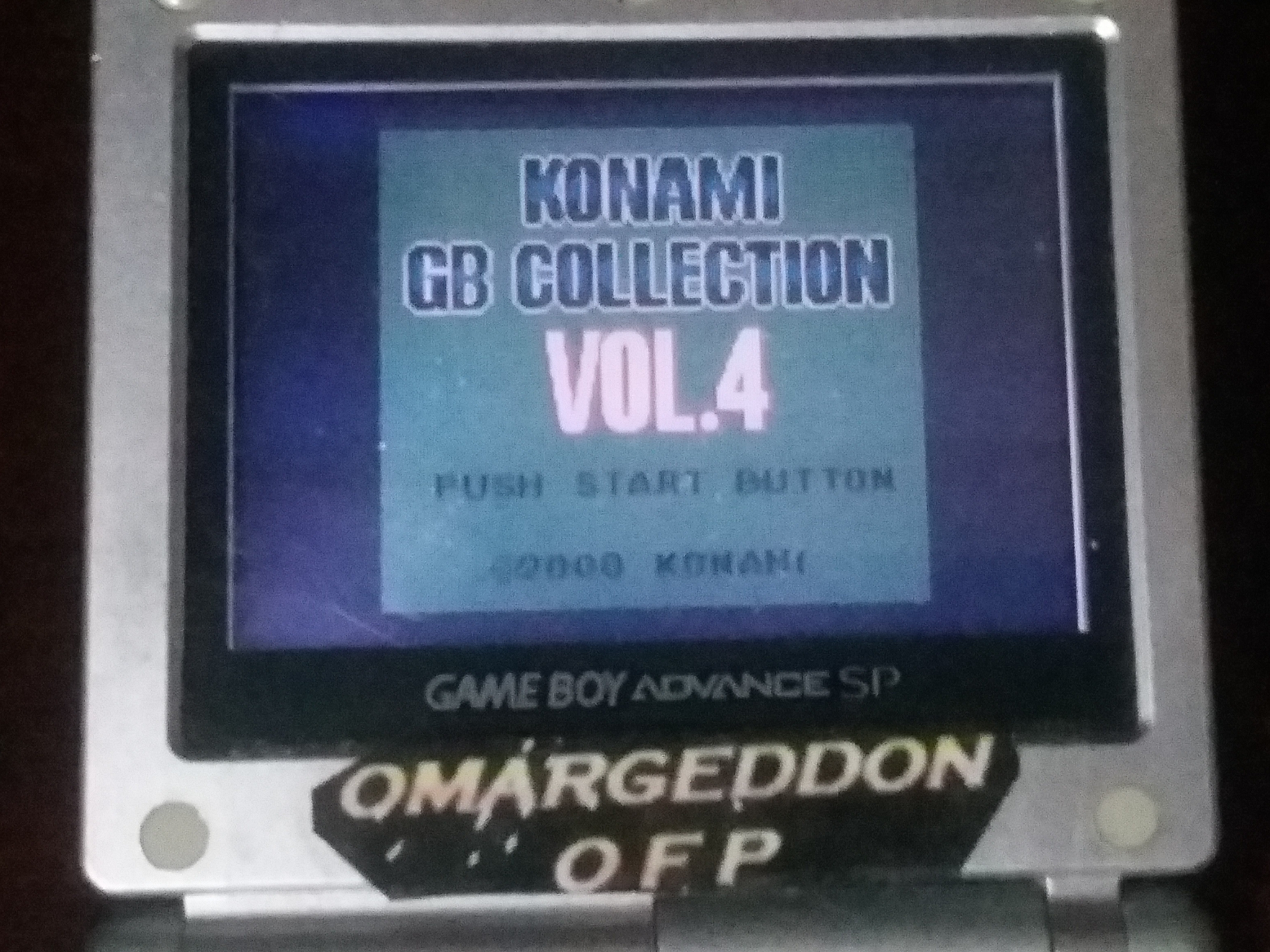 omargeddon: Konami GB Collection Vol. 4: Gradius II (Game Boy Color) 22,100 points on 2018-03-17 19:38:40