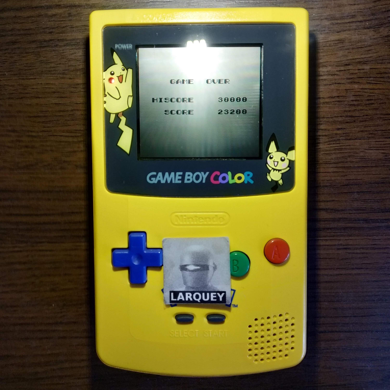 Larquey: Konami GB Collection Vol. 4: Gradius II (Game Boy Color) 23,200 points on 2020-07-14 10:36:08