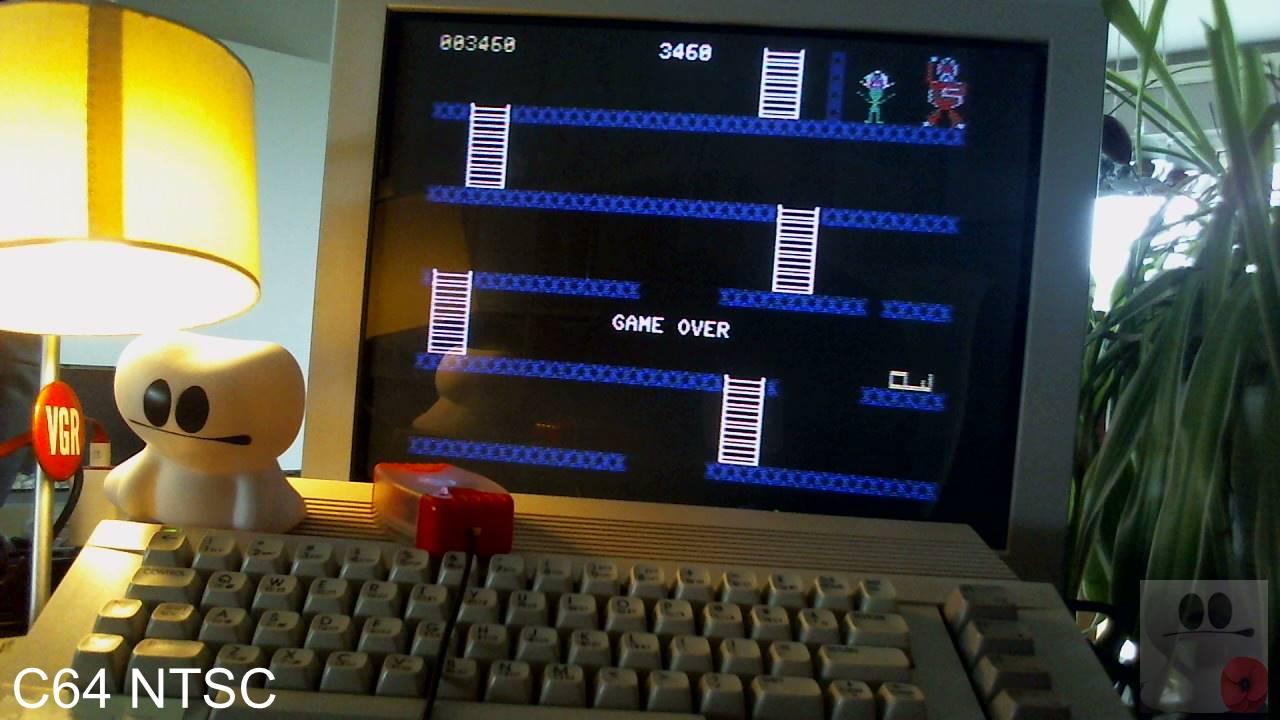 GTibel: Kongo Kong (Commodore 64) 3,460 points on 2020-04-20 03:00:37