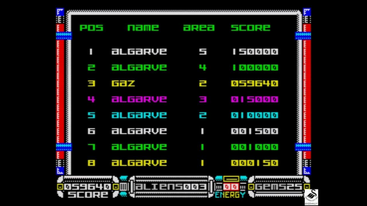 gazzhally: Kraal (ZX Spectrum Emulated) 59,640 points on 2018-11-01 15:00:25