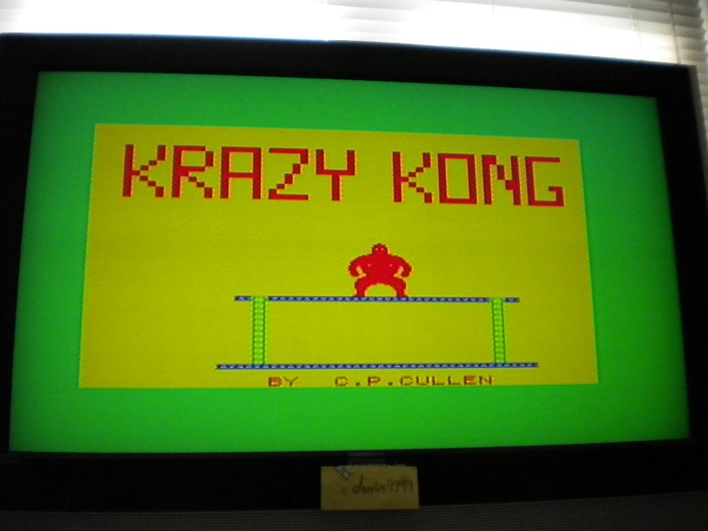 Krazy Kong [PSS] 6,040 points