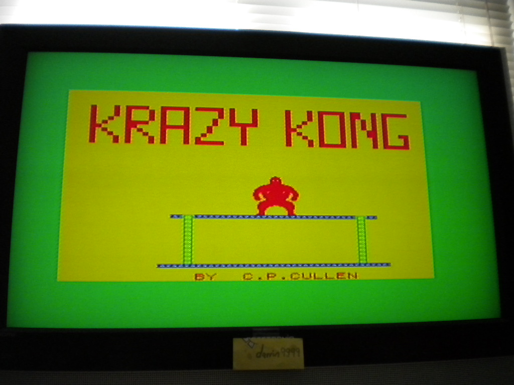 Krazy Kong [PSS] 12,630 points