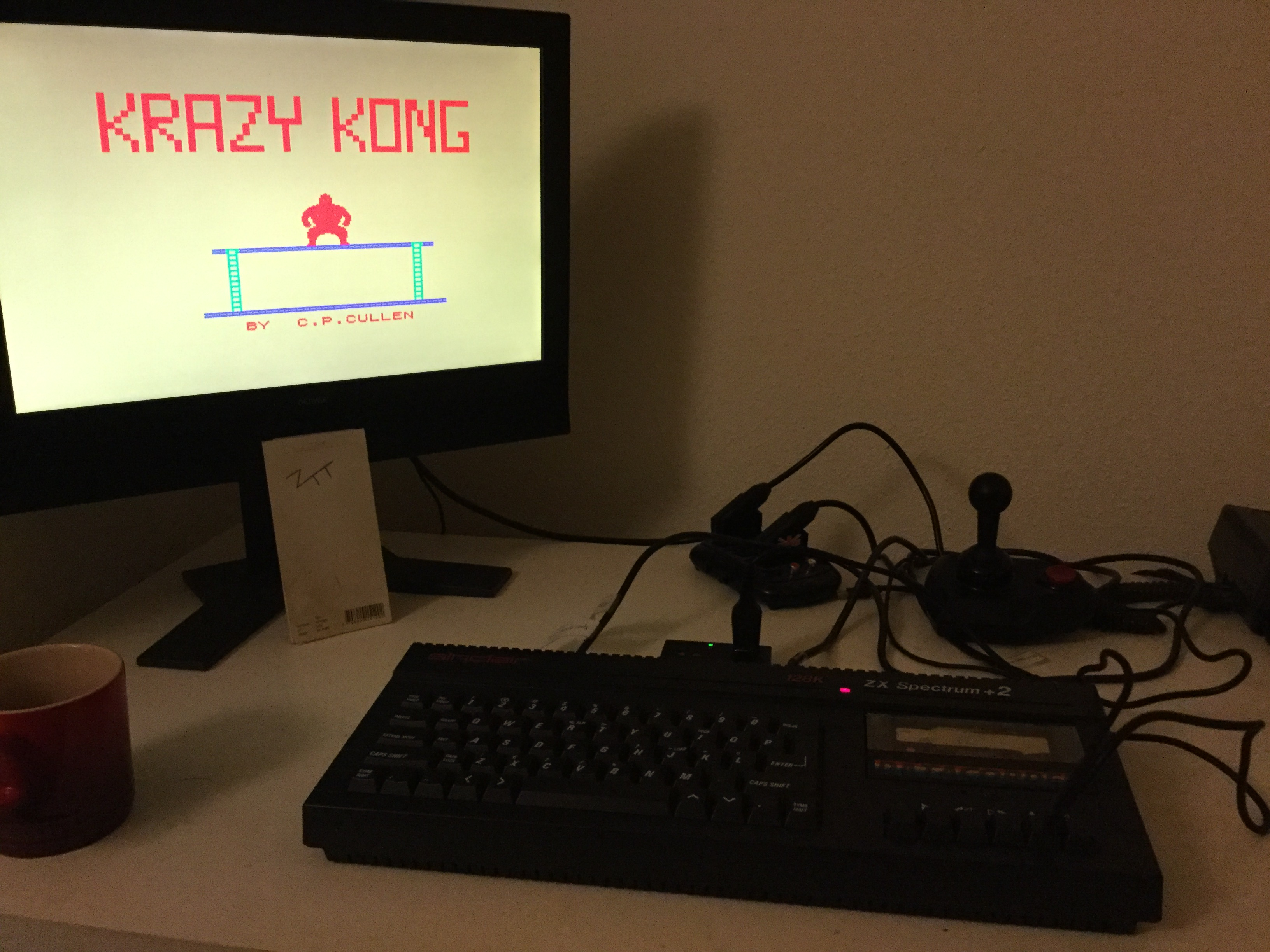 Frankie: Krazy Kong [PSS] (ZX Spectrum) 5,330 points on 2019-12-14 04:03:47