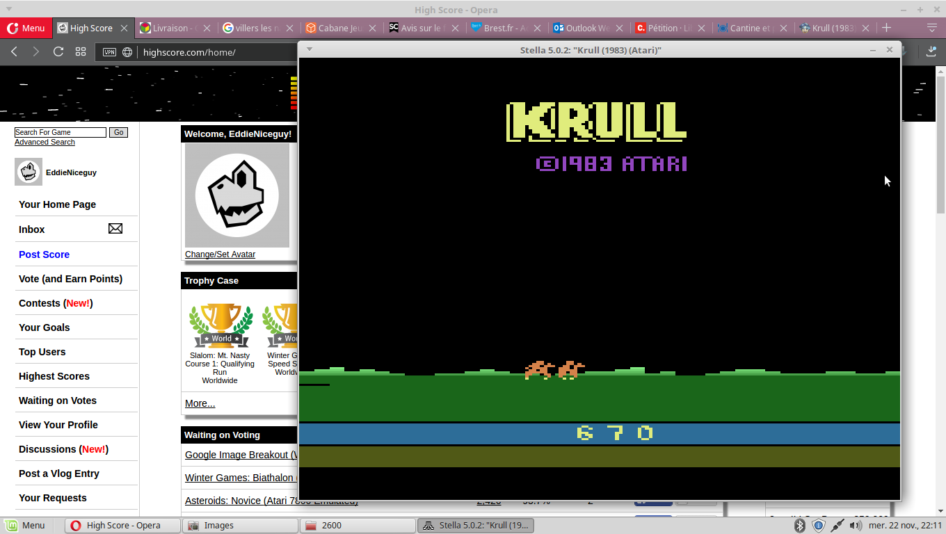 Krull 670 points