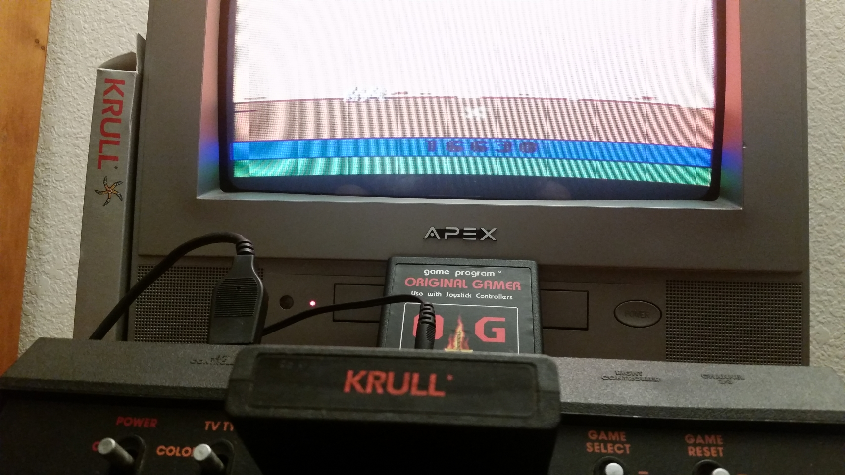 OriginalGamer: Krull (Atari 2600) 16,630 points on 2018-01-07 03:47:52