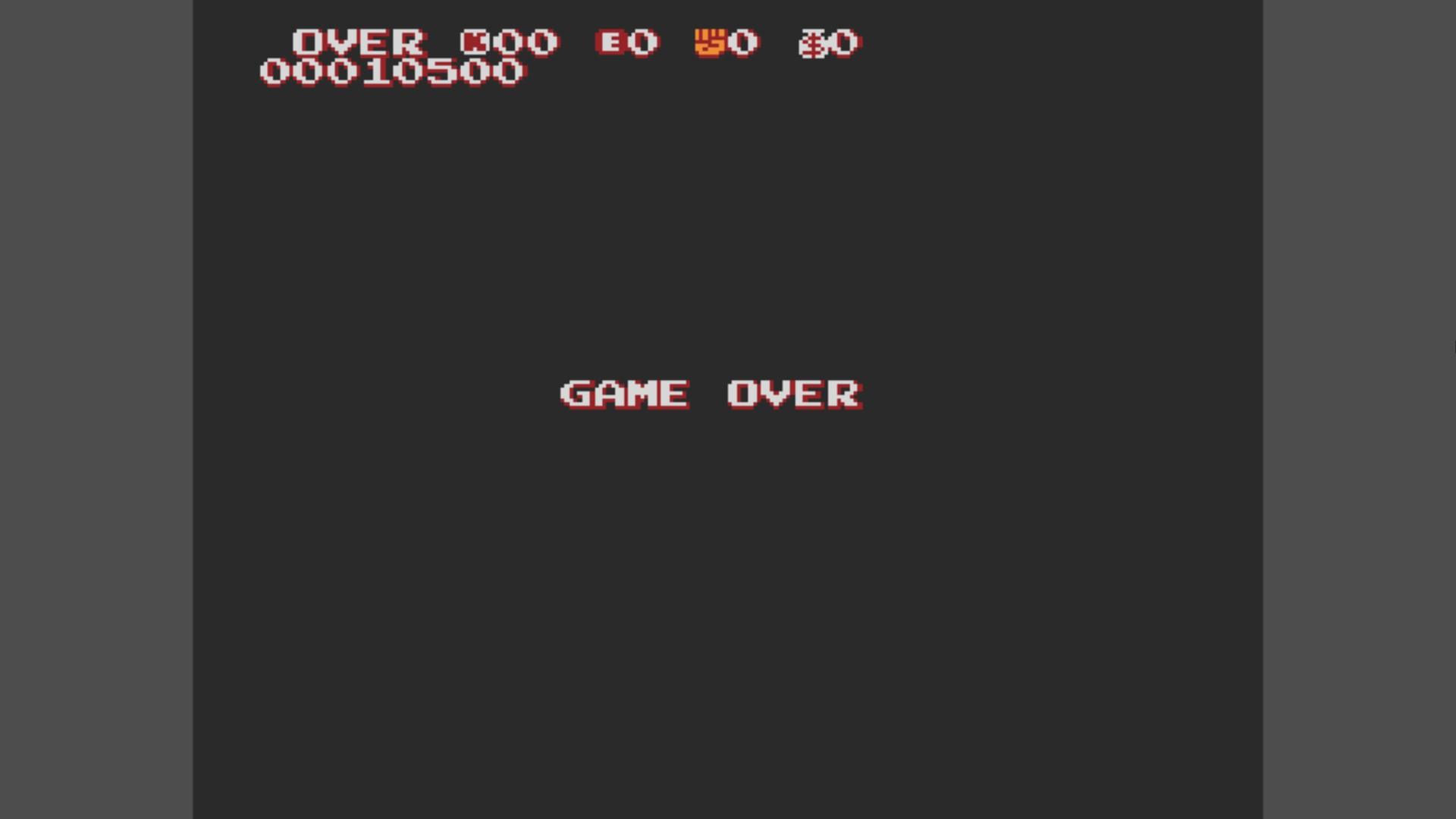 AkinNahtanoj: Kung-Fu Heroes (NES/Famicom Emulated) 10,500 points on 2020-10-25 08:28:09